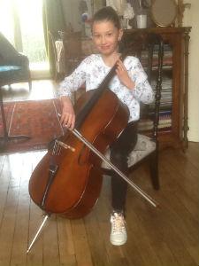 .... chaise de violoncelliste